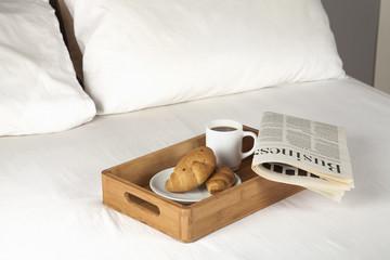 Breakfast on bed