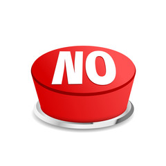 Time to say no button sign template