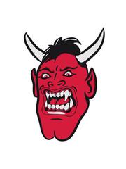 Teufel böse wut cool