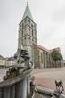 Leinwanddruck Bild - Pauluskirche in Hamm, NRW, Deutschland
