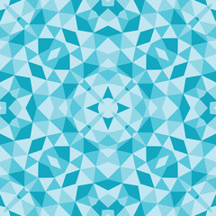 Abstract kaleidoscopic background