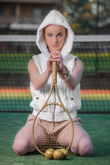 Luxury Female Tennis Hero