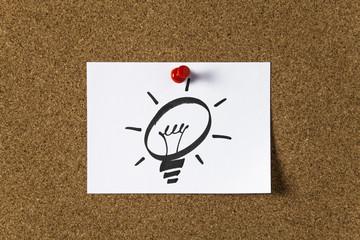 Note paper - idea