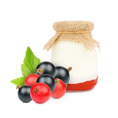 Currant yogurt