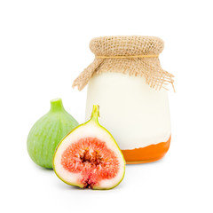 Fig yogurt