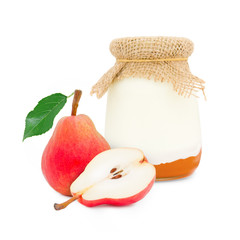 Pear yogurt