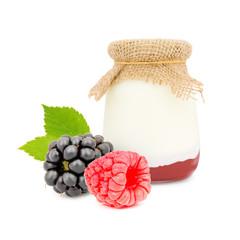 Berry yogurt