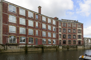 large old industrial building on Avon, Bath