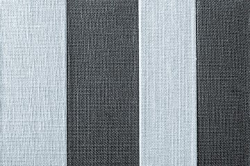striped texture of fabric black-silvery color