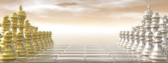 Chessboard - 3D render © Elenarts