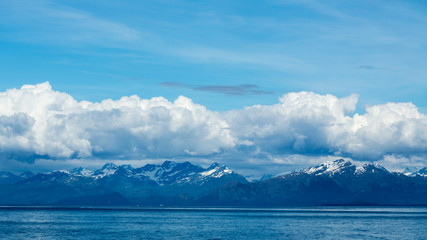Clouds over Prince William Sound