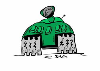Doodle Battle Tank