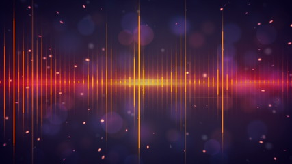 harmonic waves digital technology loopable background