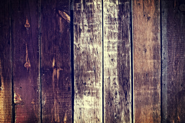 Colorful Old Wood Background - Dark Yellow