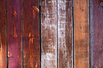 Colorful Old Wood Background