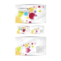 smart business brochure and card