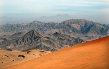 Lost in the desert - einsam in der Wüste