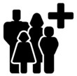 family medical care icon