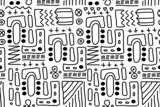 Aboriginal art - doodle art poster