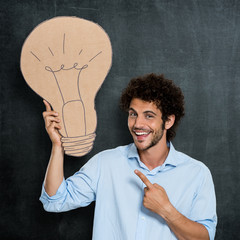 Man Has A Bright Idea