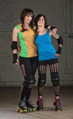 Roller Derby Skater Friends