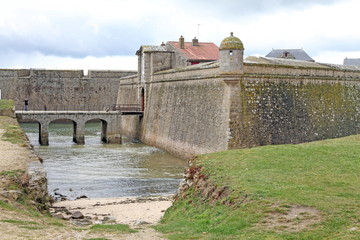 Citadel of Port Louis in  Morbihan  in Brittany, France