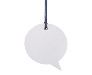 Hanging Speech Bubble