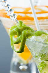 Fresh triple citrus mojito