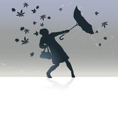Herbst, Sturm