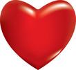 Obrazy na płótnie, fototapety, zdjęcia, fotoobrazy drukowane : 3d red heart