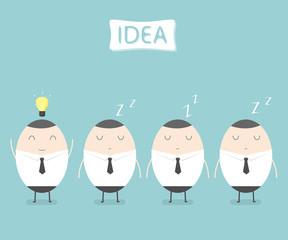Got an idea. idea concept