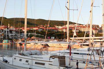 Yachtport Marina Dinevi, Bulgaria - August 29, 2014