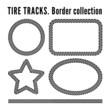 Tire tracks - 70519525