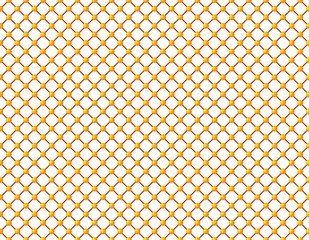 Abstract yellow spheres pattern background