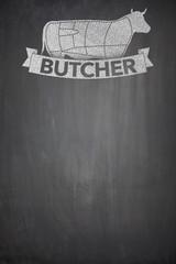 Butcher menu on Blackboard