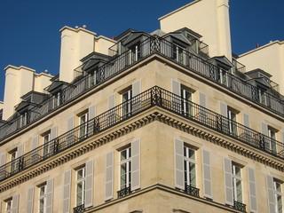 Immeuble d'architecture parisienne