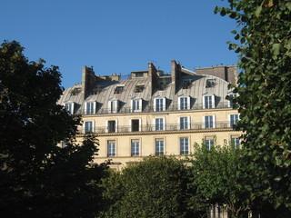 Immeuble du centre de Paris