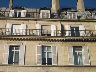 Vieil immeuble de Paris