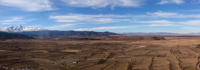 view from La Calahorra fortress
