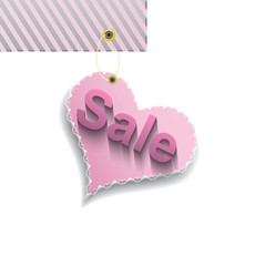 Pink Heart for sale