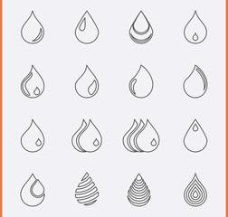 Drop Icons
