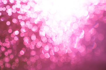 Abstract pink blur background