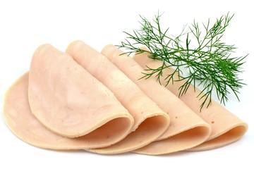 chicken ham slices