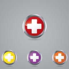Medical button set .