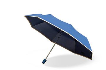 Schirm mit Schatten, weißer Hintergrund