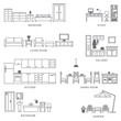 Home related icons 5 - 70525590