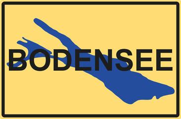 Bodensee Ortschild