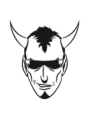 Teufel arrogant Sonnenbrille