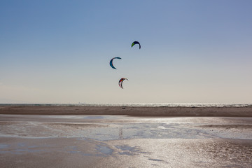 Kite surfing in Tarifa