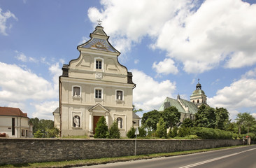 Sanctuary of Mary Magdalene in Bilgoraj. Poland